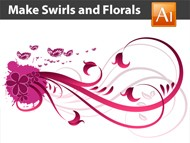 How to draw with Brushes - Swirls, Swooshes, Florals, Butterflies - Adobe Illustrator Tutorial