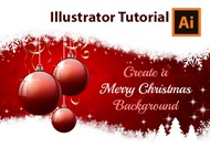 Illustrator Tutorial - How to create a Christmas Card