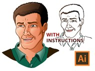 Inking and Coloring Tutorial for Adobe Illustrator