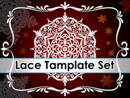 Lace Template Set
