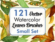 Leaves Brushes Small Set