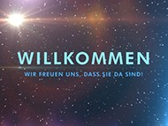 Outer Space Willkommen