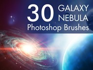 Ps - Nebula Galaxy Brushes