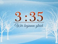 Winterwelt Countdown